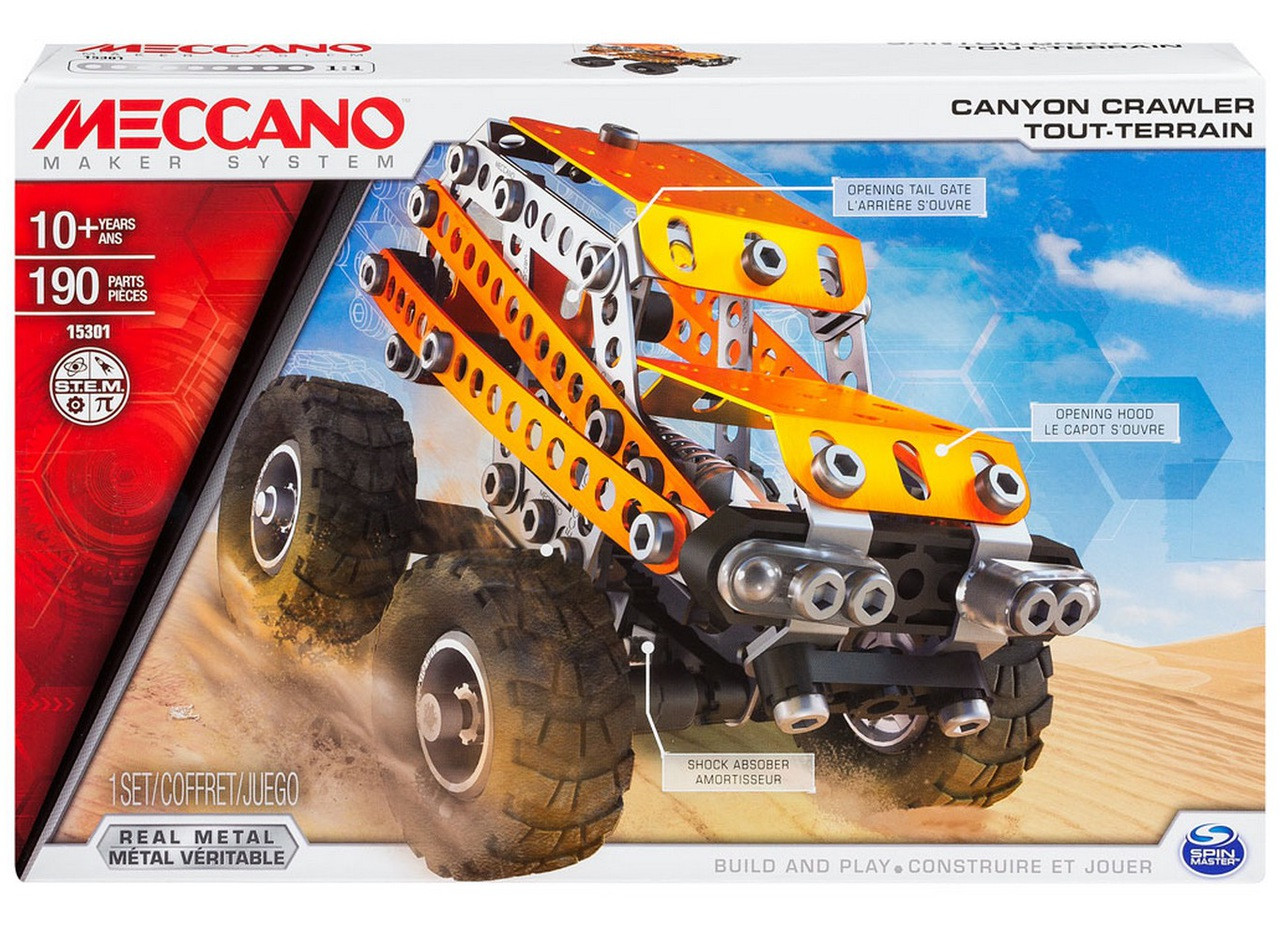 meccano-15301-canyon-crawler-2-in-1-model-set-build-play-construct