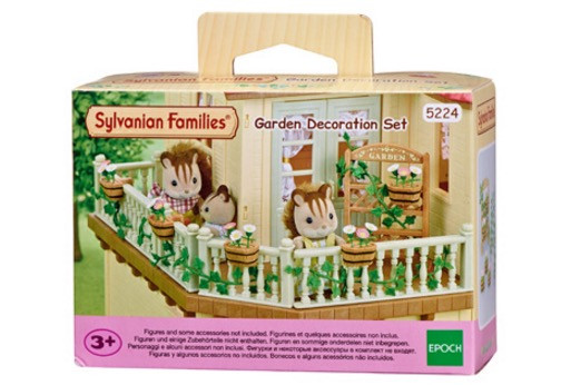 sylvanian-families-garden-decoration-set-new