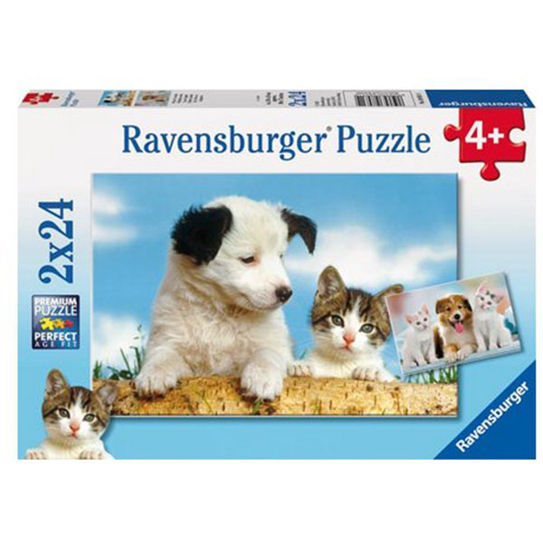 real-friends-pets-puzzle-2x24-piece-by-ravensburger