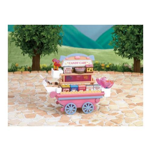 sylvanian-families-candy-cart