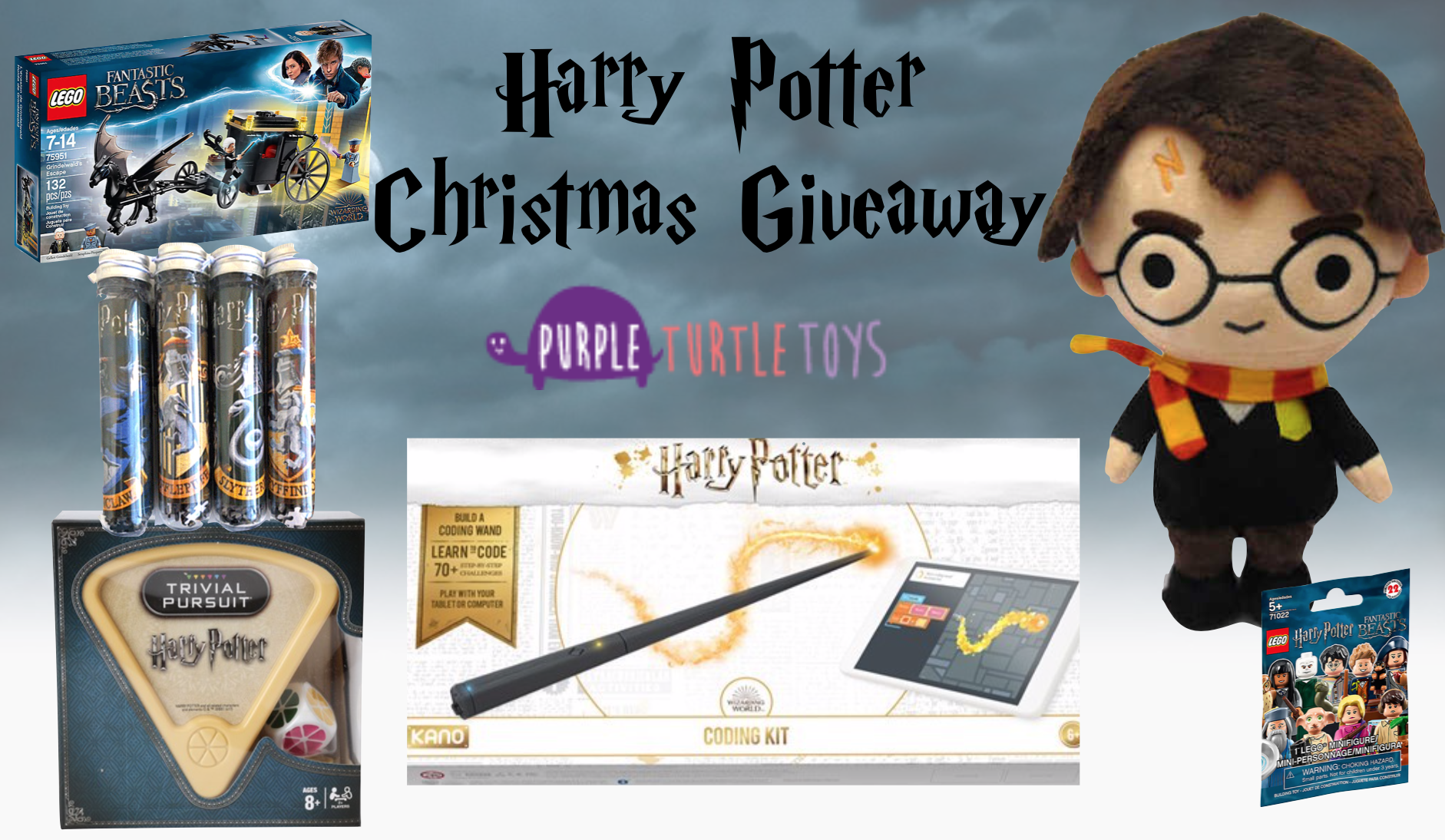 Harry Potter Christmas Giveaway