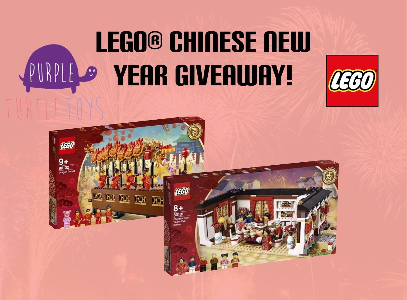 LEGO Chinese New Year Giveaway